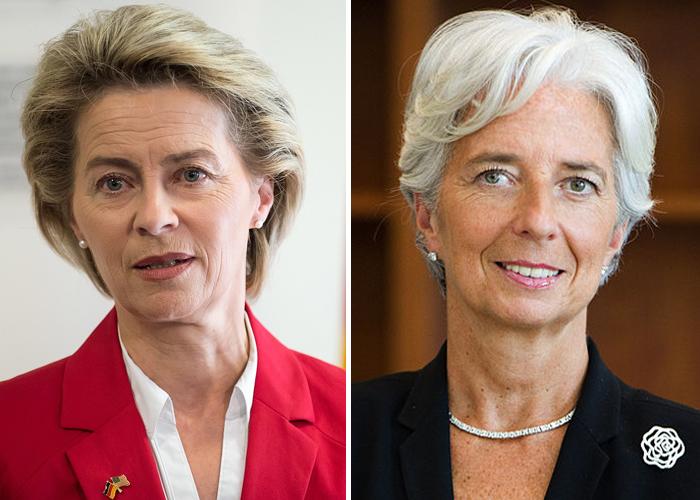Ursula von der Leyen y Christine Lagarde se toman el poder en Europa