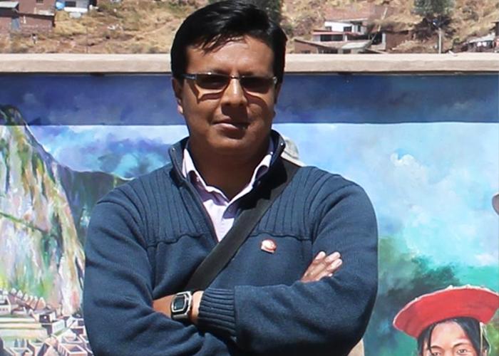 Jairo Buesaquillo, el paisajista de los colores del sur
