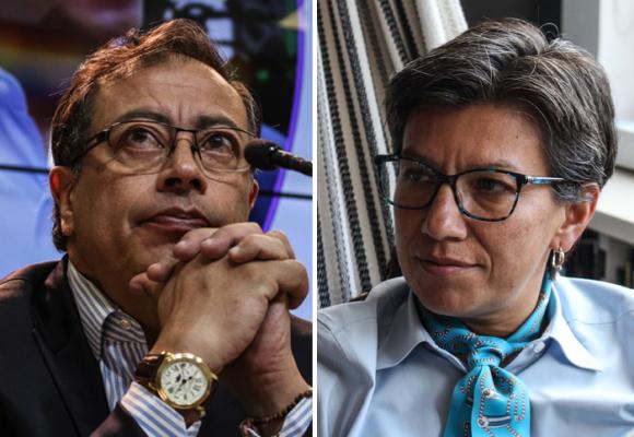 Gustavo Petro y Claudia López: no hay opción, ustedes dos están obligados a entenderse