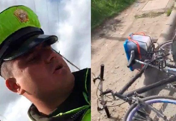 "[VIDEO] ""Porque se me da la put* gana"", Policía de Tránsito"