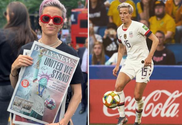 Megan Rapinoe, la mujer que le metió un gol a Trump