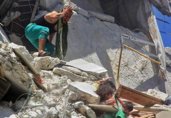 Símbolos de esperanza en medio de la guerra siria