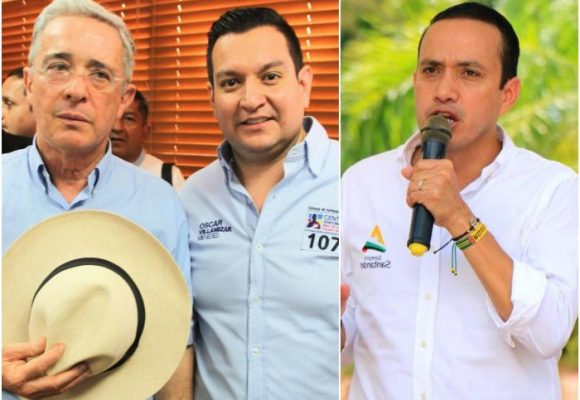 Óscar Villamizar, el representante que se le volteó a Uribe en Santander