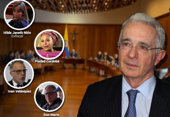 Paras, funcionarios, ganaderos, abogados y políticos: los 25 testigos del caso Uribe