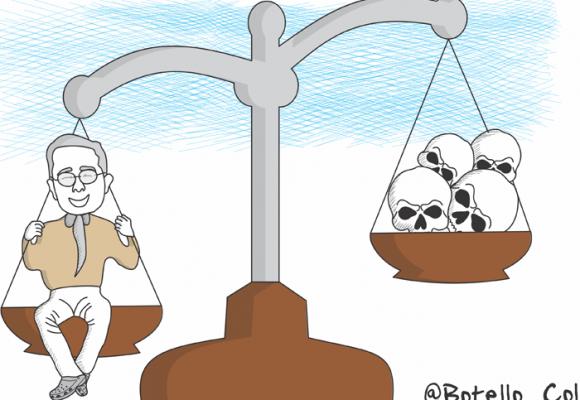 Caricatura: Uribe, a indagatoria