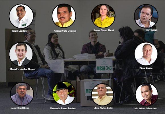 Top 10 de candidatos cuestionados para elecciones regionales