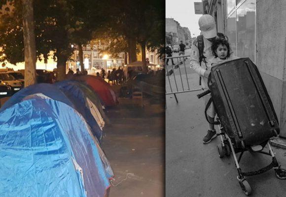 La cruel ruta de los 130 colombianos que terminaron arrumados en las afueras de París