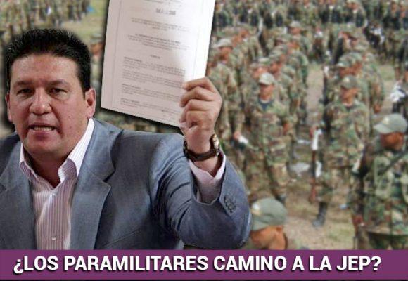 Diego Vecino, la voz política de los paras