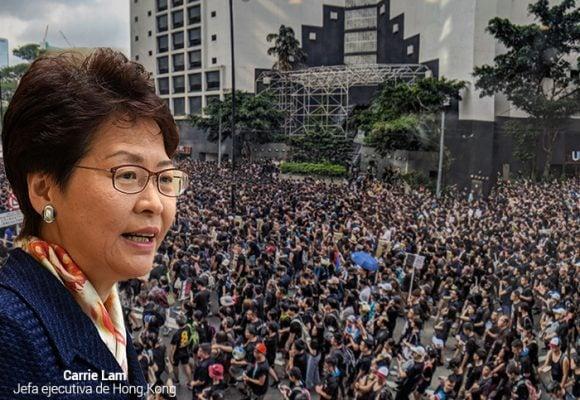 Carrie Lam, la autoritaria gobernante de Hong Kong que no cede