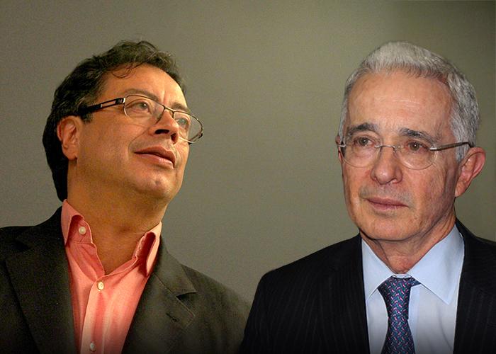 Sensaciones de provincia: Uribe y Petro, una cita con la patria