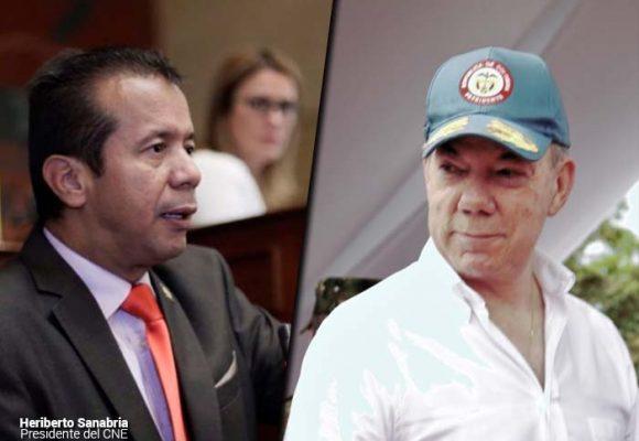 CNE se tomó en serio las denuncias de la Fiscalía sobre Santos