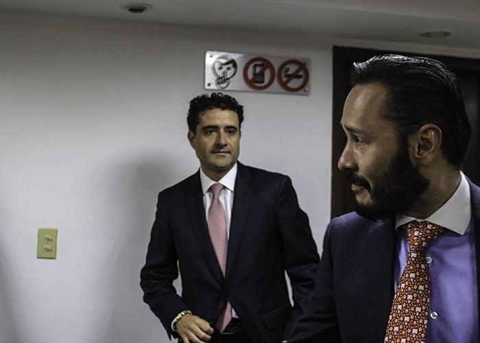 El abogado Externadista Wilson Cadena, suplente de Aguilar, lideró la defensa en las audiencias del proceso que duró 3 años. Foto: Leonel Cordero