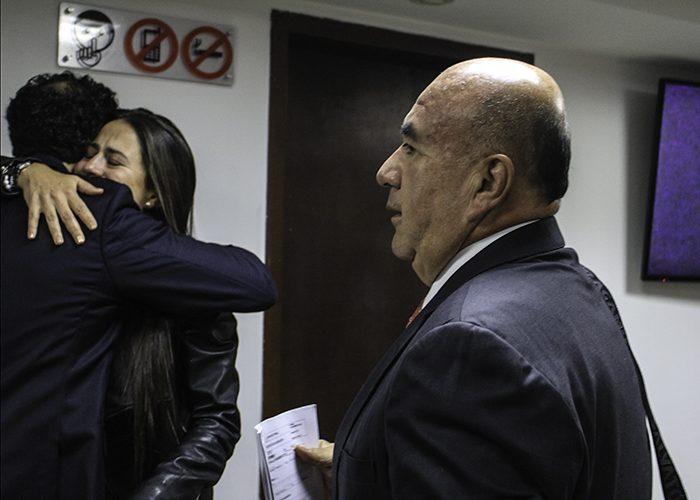El penalista Pedro Aguilar, defensor principal de los hermanos Uribe Noguera. Foto: Leonel Cordero