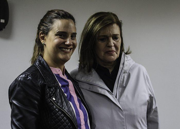 Carmenza Watemberg de Arboleda, la mamá de Laura, acompañó a los hermanos Uribe en el juicio. No así la madre de los hermanos, Isabel Noguera. Foto: Leonel Cordero