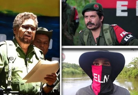 Los comandantes del ELN aliados de Iván Márquez