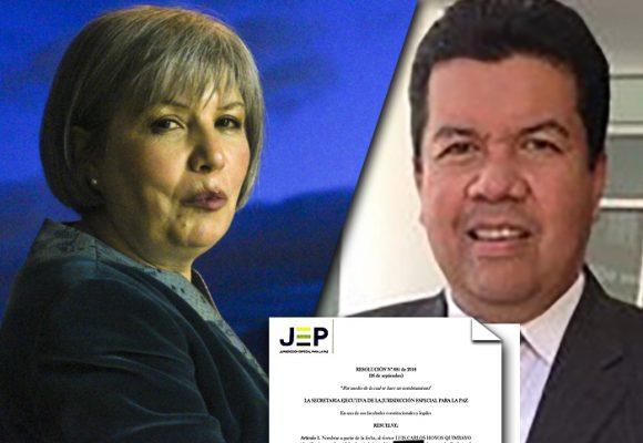 De abogado de José Miguel Narváez a magistrado auxiliar en la JEP