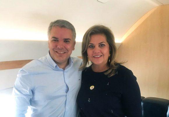 La directora del CD en Córdoba coronó dos pesados cargos diplomáticos