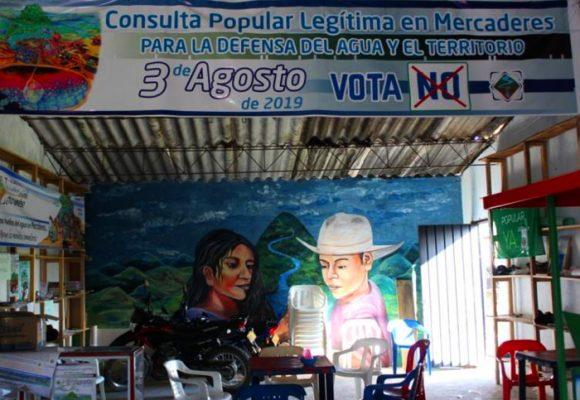 Campesinos de Mercaderes, Cauca, se brincan al registrador