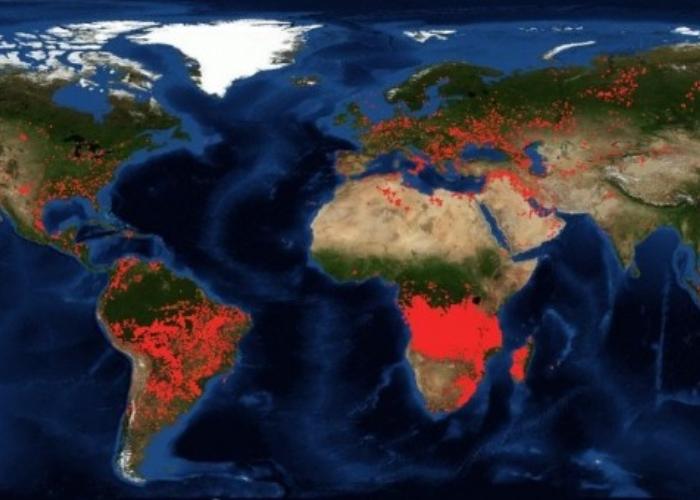 Otras zonas del planeta que arden en silencio
