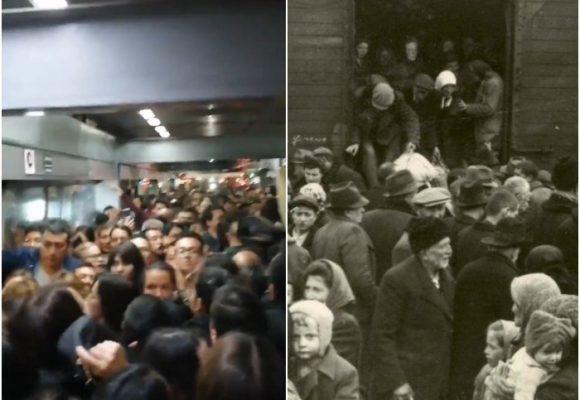 TransMilenio o los trenes del Holocausto
