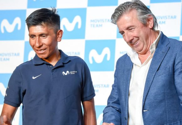 Movistar se arrepiente de maltratar a Nairo y le ruega que no se vaya