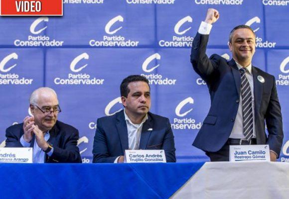 Cachetada de los congresistas conservadores paisas a Juan Camilo Restrepo