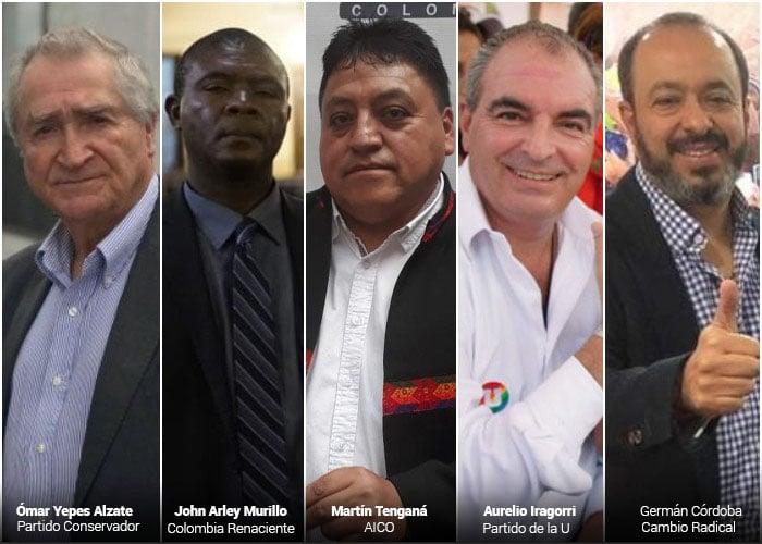 Los cinco partidos que más inscribieron candidatos inhabilitados