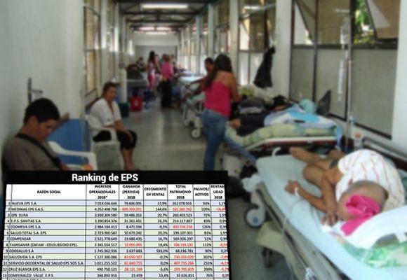 ¿Qué pasa con los millones que reciben las EPS?