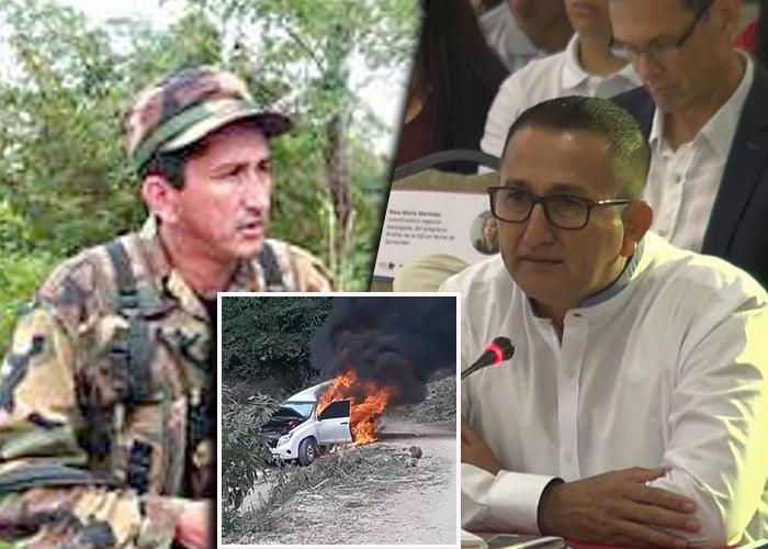 El video de las disidencias de las FARC que atacaron a su excomandante Rubén Zamora