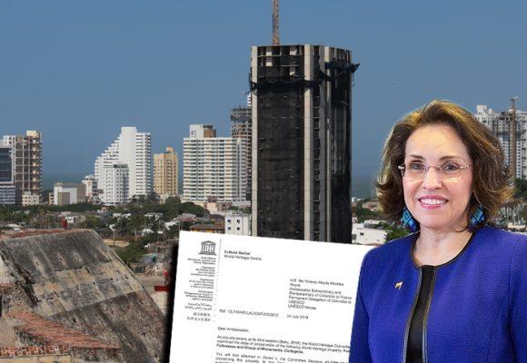 La sin salida de la torre Aquarela de Cartagena: Ultimátum de la UNESCO