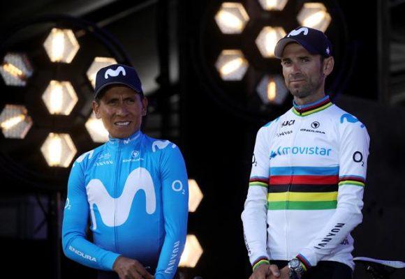 Valverde volvió a traicionar a Nairo Quintana en la Vuelta a España