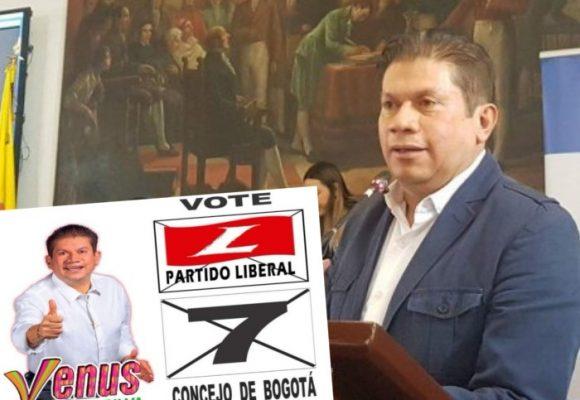Partido Liberal acoge a Venus Albeiro, el concejal expulsado del Polo