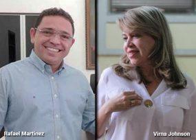 Imparable en Santa Marta Virna Johnson, la candidata de Fuerza Ciudadana