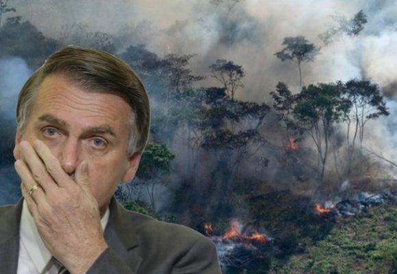 Bolsonaro y el incendio