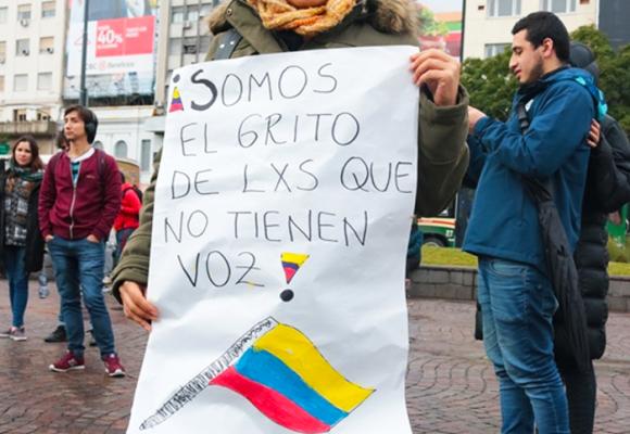 Respeto por la vida de nuestros líderes y lideresas, el grito global de los colombianos