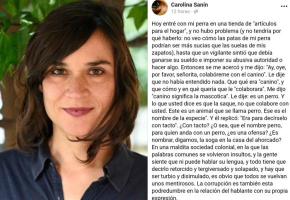 En defensa de la pedagogía de Carolina Sanín