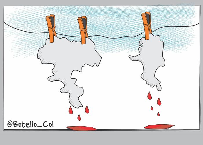 Caricatura: Abandono estatal