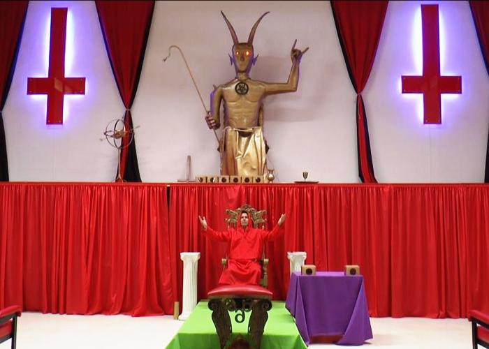 La lucha del diablo por legalizar su templo en el Quindío