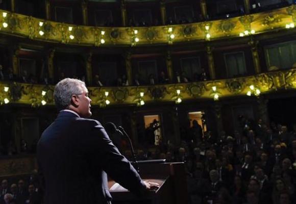 Así fue el primer año de gobierno de Iván Duque Márquez