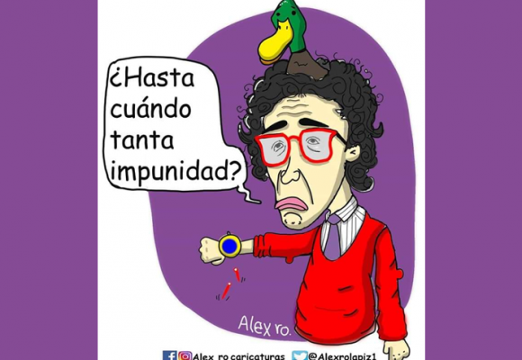 Caricatura: Veinte años sin Jaime Garzón