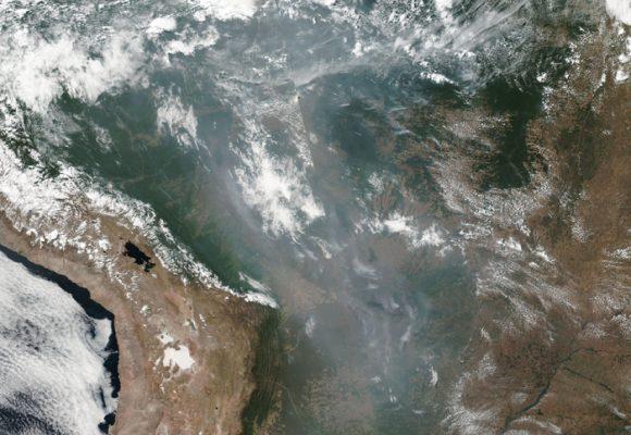 El río de fuego en el Amazonas