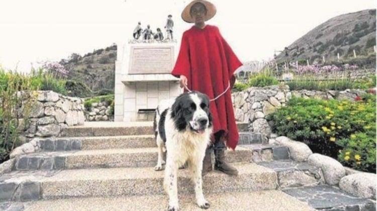El perro de Simón Bolívar