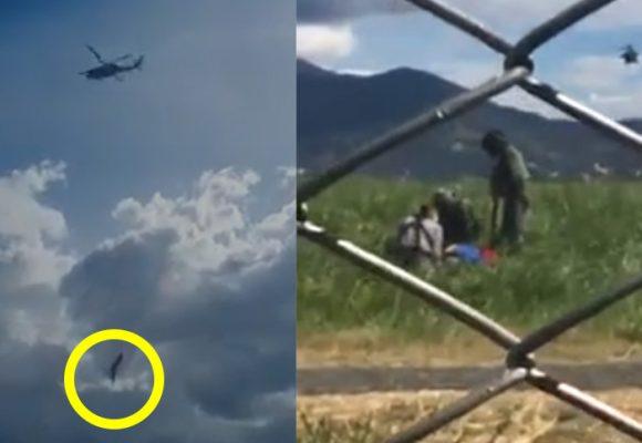 [Videos] La impotencia por salvar a militares tras caer de helicóptero en Medellín