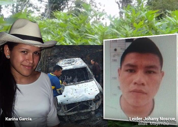 Mayimbú, el zar de la marihuana terminó matando a la Karina Garcia que ser alcalde de Suarez