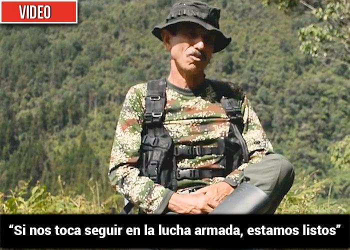 Walter Mendoza, uno de los 9 comandantes que acompañan a Márquez, nunca confió en Santos