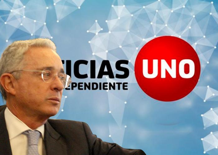Uribe no cerró el noticiero: ¡nadie ve Noticias Uno!