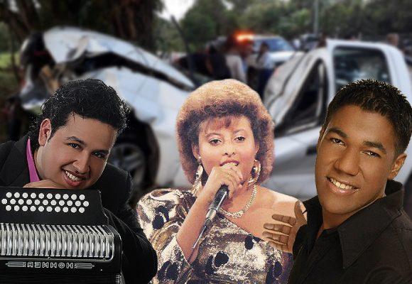 7 muertes trágicas de artistas vallenatos en carreteras costeñas