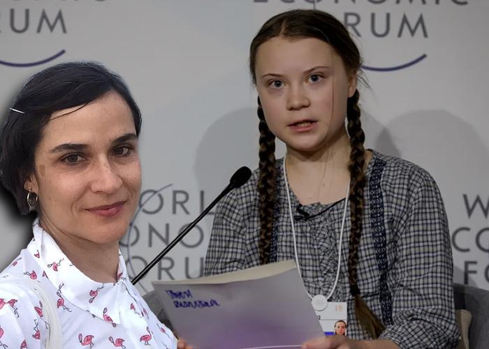 ¿Por qué los machistas le tenemos miedo a Carolina Sanín y Greta Thunberg?