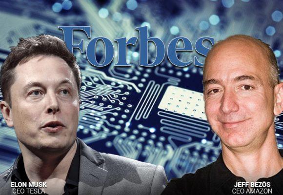 Bezos y Musk son los CEOs más innovadores de Estados Unidos