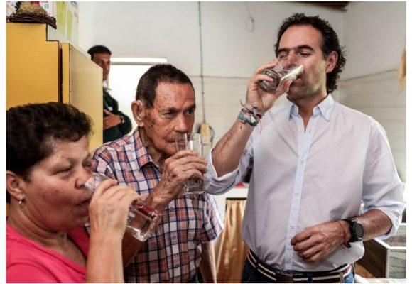 Agua potable para corregimientos de Medellín